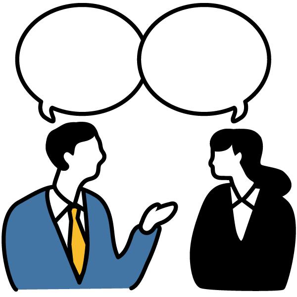 求職者と双方向の コミュニケーションが取れる